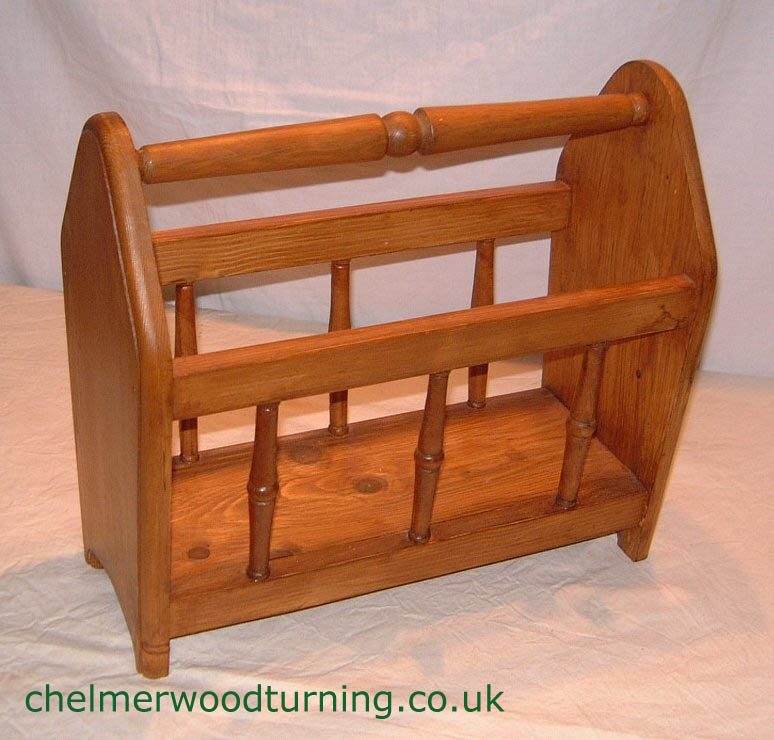 Wood Magazine Rack ~ Woodwork magazine rack wooden pdf plans
